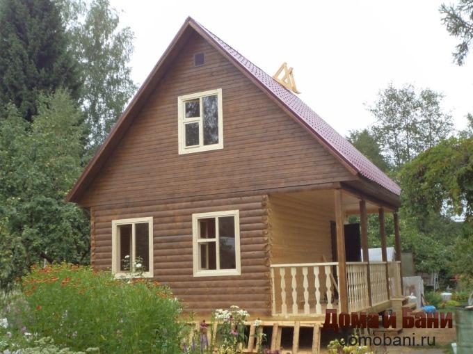 фото дома с террасой