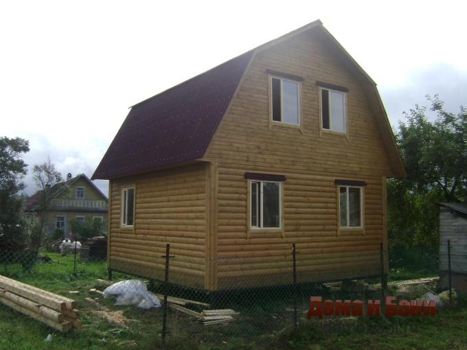 фото садового дома 6х6
