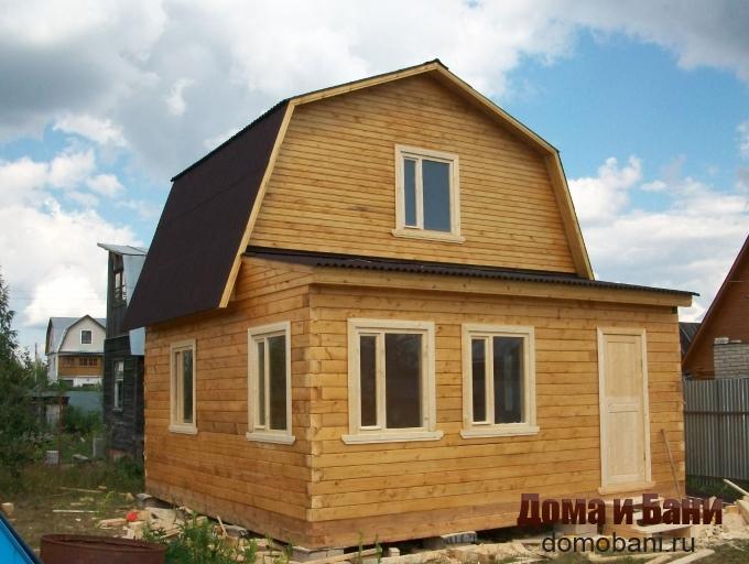 фото загородного дома 6х6