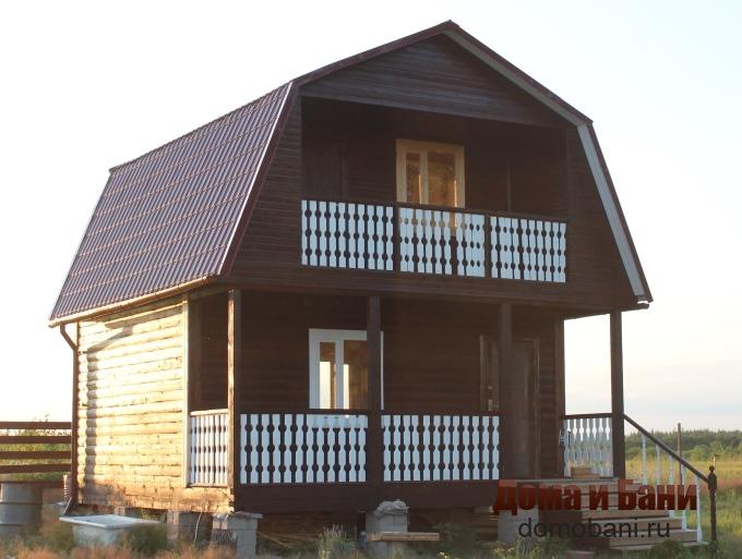 Фотография дома 6х6