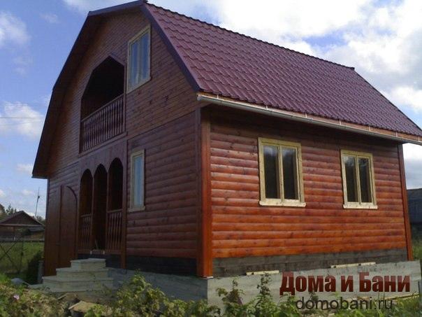 фото дома 8х8 в Щелково