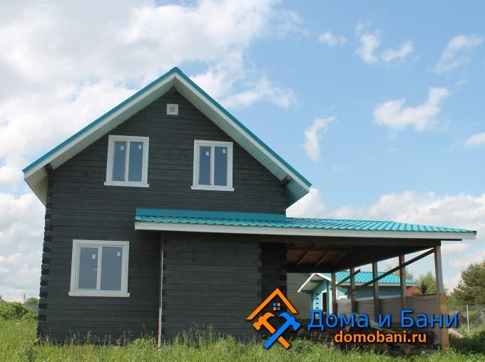 фото деревянного дома Озерском районе