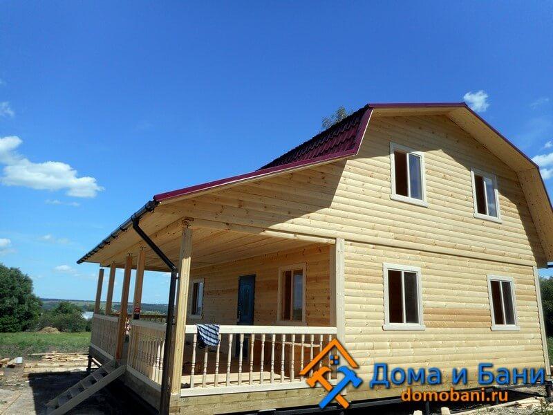 дом из бруса Калуга под ключ